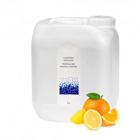 Dampfbademulsion Citrone-Orange 5l