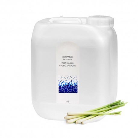 Dampfbademulsion Lemongrass 5l