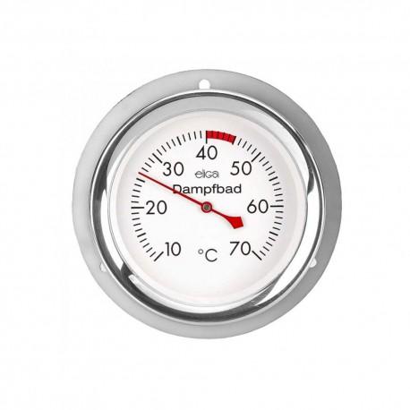 Dampfbadthermometer aus Edelstahl