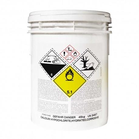 Ipoclorito sodio calcio granulato
