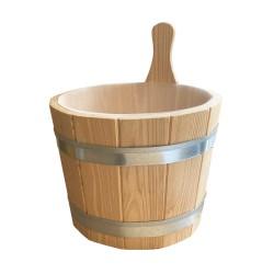 Secchiello per sauna in legno